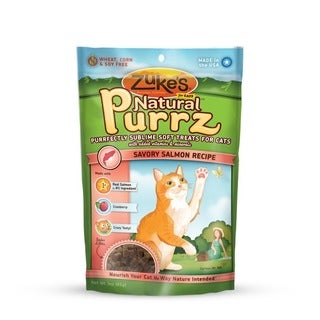 Zukes Natural Purrz 3 oz Cat Treats Salmon