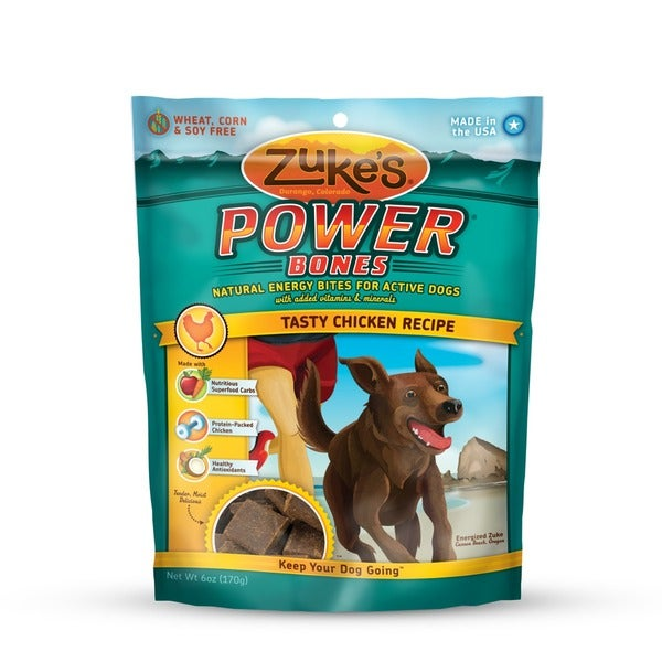 Zukes Powerbones 5 oz Chicken Treats