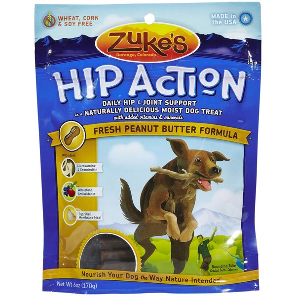 Zuke S Hip Action Treat Peanut Butter Treats