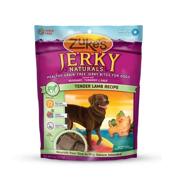 Zukes Jerky Naturals 5 oz Lamb Treats