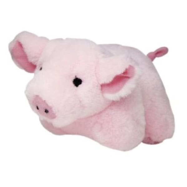 Multipet 'Look Who's Talking' Plush Pig Pet Toy