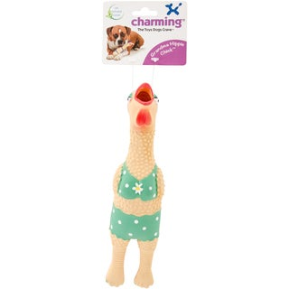 Grandma Hippie Chick Dog Toy