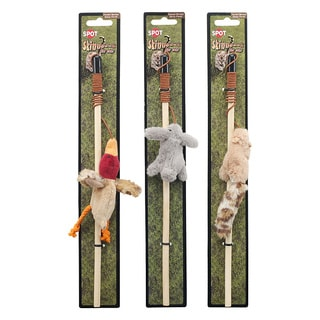 Ethical Skinneeez Forest Friends Wand Cat Toy