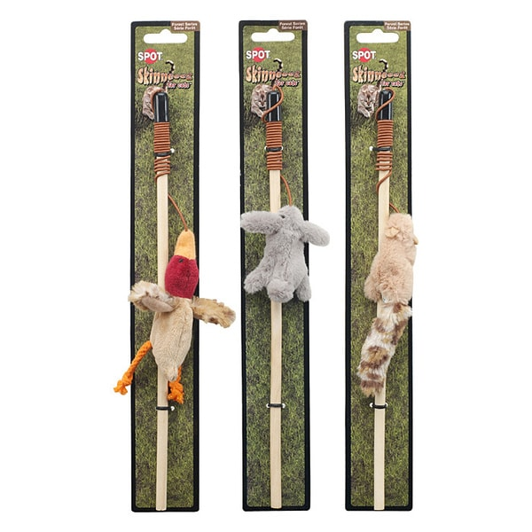 Ethical Skinneeez Forest Friends Wand Cat Toy 8273182