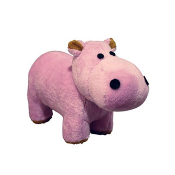 Tuffy Mighty Safari Jr Hippo Dog Toy