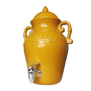 American Altelier Tuscan Golden Glow Beverage Dispenser