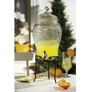 Style Setter Buzz Glass Beverage Dispenser