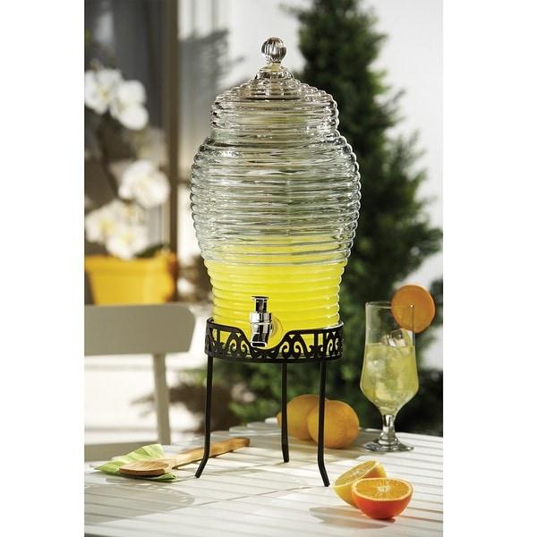 Style Setter Buzz Glass Beverage Dispenser