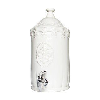 American Atelier Bianca White Beverage Dispenser