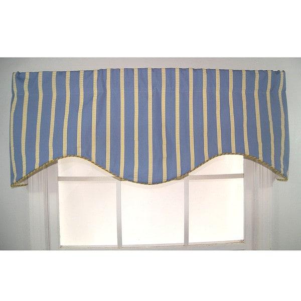 Varsity Stripe Cornice Valance