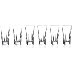 Fusion Collection Crystal Highball Glasses (Set of 6)