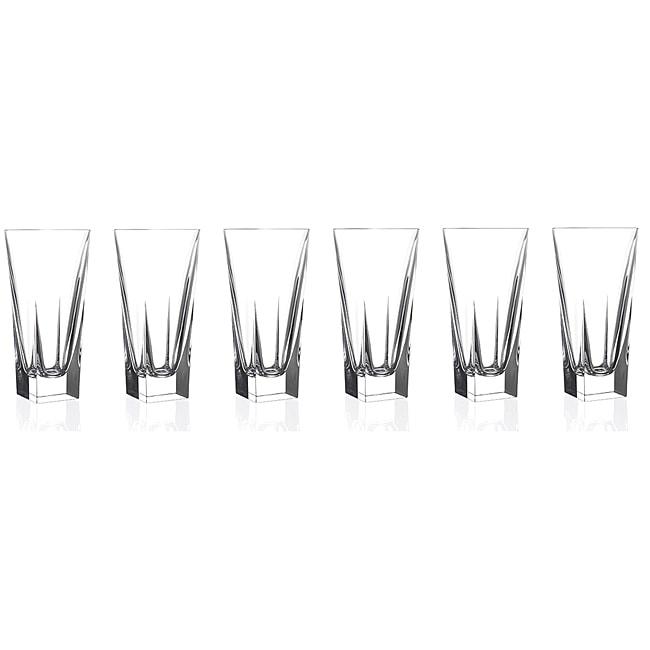 Logic Collection Crystal Highball Glasses (Set of 6)