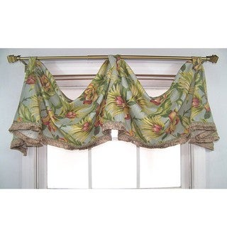 Malibu Cotton Bark Celebration Valance