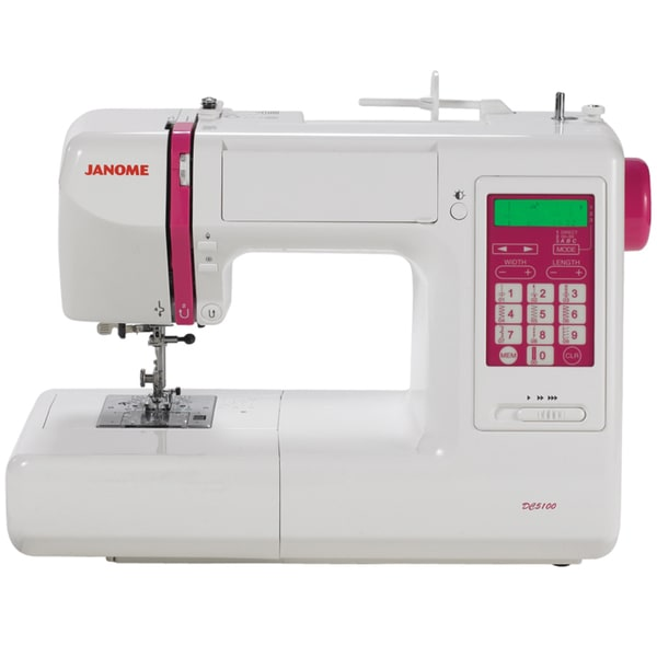 Janome dc5100 computerized sewing machine 13792004 for Janome memory craft 350e manual