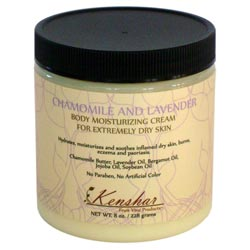 Chamomile and Lavender Body Moisturizing Cream for Extremely Dry Skin