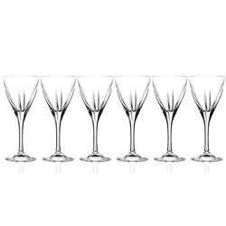 Fusion Collection Crystal Water Goblets (Set of 6)