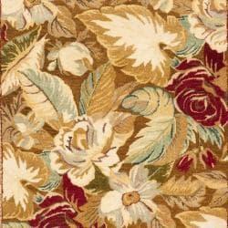 Safavieh Handmade Autumn Multi Hand-spun Wool Rug (5' x 8')