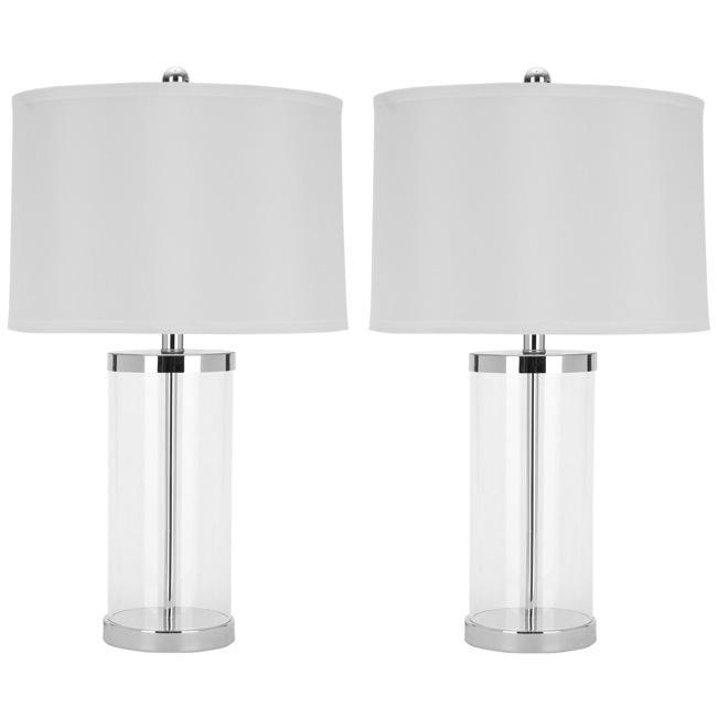 Safavieh Indoor 1-light Glass Exquisite Table Lamps (Set of 2)