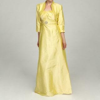 Eliza J Women's 2-piece Yellow Dress