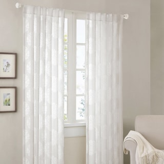 Madison Park Emerson Damask 95-inch Curtain Panel