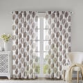 Madison Park Emerson Damask 84-inch Curtain Panel