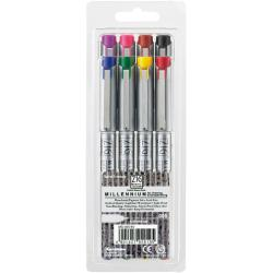 Zig Memory System Millennium 0.2mm Assorted Color Markers (Pack of 8)