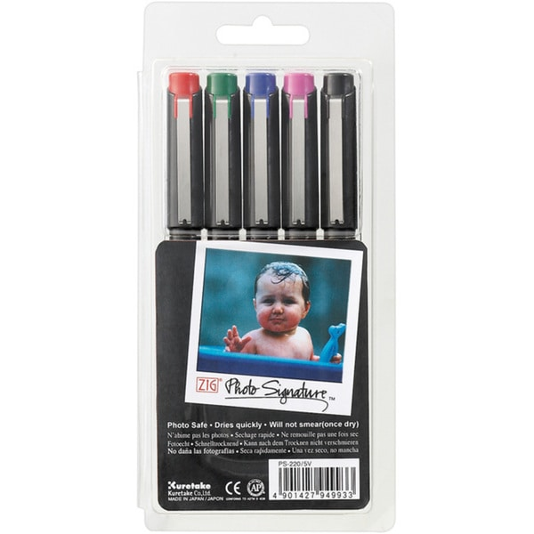 Zig Photo Signature Markers (Pack of 5)