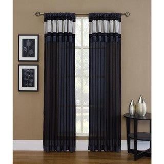 Sheer Kent w/Metallic trim 95-inch Panel