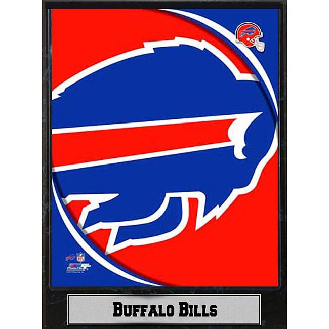 2011 Buffalo Bills Logo Plaque