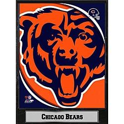 2011 Chicago Bears Logo Plaque