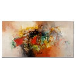 Zavaleta 'Abstract VI' Canvas Art