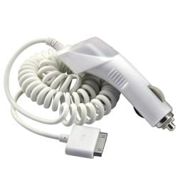 MYBAT White Car Charger for Apple iPod/ iPad/ iPhone