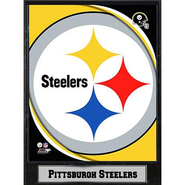 2011 Pittsburgh Steelers Logo Plaque (9 x 12)