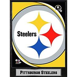 2011 Pittsburgh Steelers Logo Plaque (9 x 12)