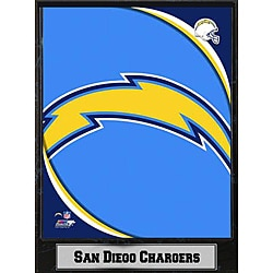 2011 San Diego Chargers Logo Plaque (9 x 12)