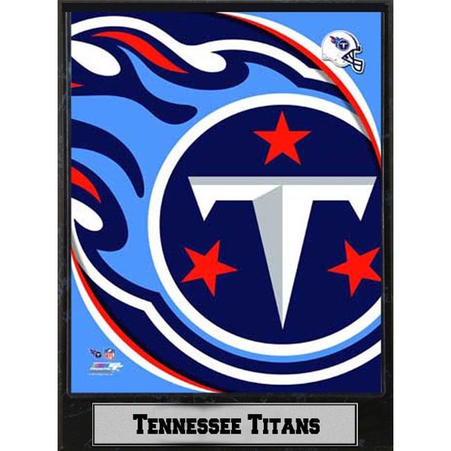 2011 Tennessee Titans Logo Plaque (9 x 12)