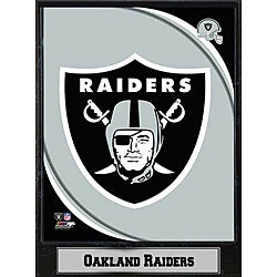 2011 Oakland Raiders Logo Plaque