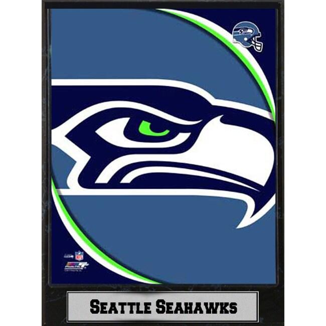 2011 Seattle Seahawks 9x12-inch Logo Plaque