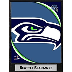 2011 Seattle Seahawks 9x12-inch Logo Plaque