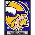 2011 Minnesota Vikings Logo Plaque