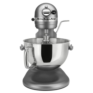 KitchenAid RKP26M1XCU Contour Silver 6-quart Pro 600 Bowl-Lift Stand Mixer (Refurbished)