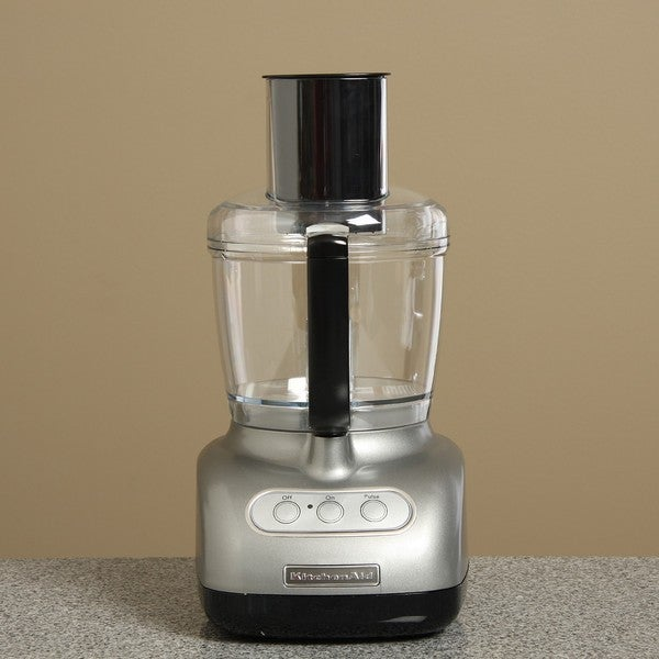 KitchenAid RKFP710CU Contour Silver 7-cup Food Processor (Refurbished)