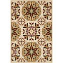 Chime Ivory/ Multi Area Rug (3'10 x 5'7)