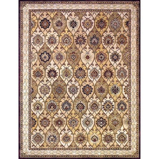 Hand-tufted Genus S. Multi Wool Rug (5' x 7'6)