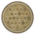 Hand-tufted Genus Multi Wool Rug (8' Round)