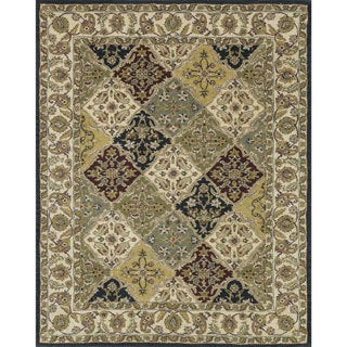 Hand-tufted Mason Multi Wool Rug (8' x 11')