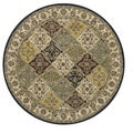 Traditional Hand-tufted Genus Multi Wool Rug (8' Round)