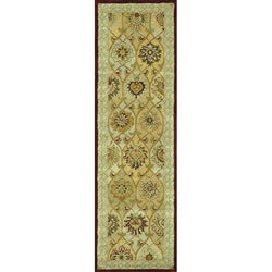 Hand-tufted Mason Multi Wool Runner Rug (2'3 x 8')