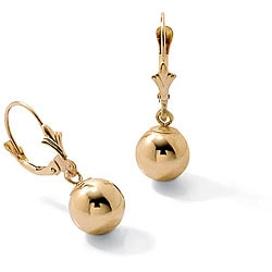 Toscana Collection 18k Gold over Silver Dangle Earrings