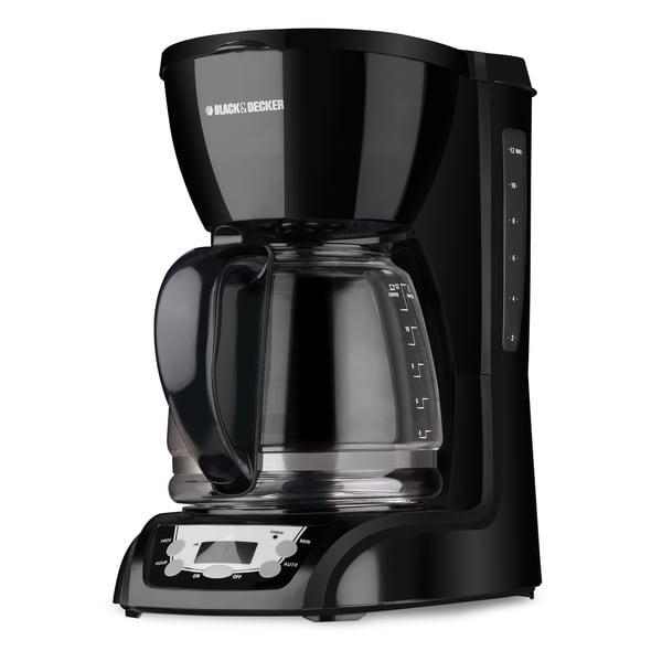 Black & Decker DLX1050B 12-Cup Programmable Coffeemaker 8281817